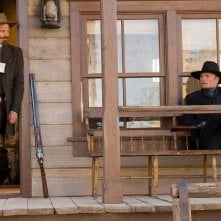 Viggo Mortensen e Ed Harris in una sequenza del film Appaloosa
