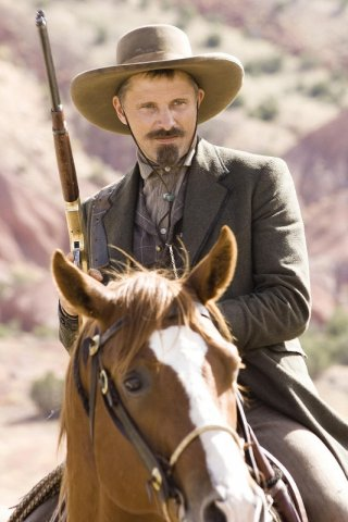 Viggo Mortensen in un'immagine del film Appaloosa