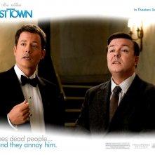 Wallpaper del film Ghost Town con Ricky Gervais e Greg Kinnear