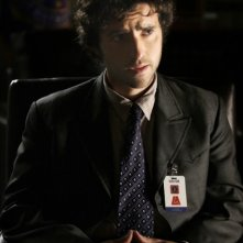David Krumholtz in una scena dell'episodio 'Blowback' della serie Numb3rs