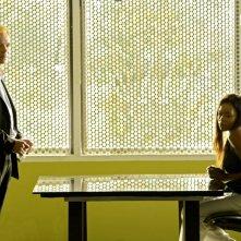 Golden Brooks insimeme a David Caruso nell'episodio 'And How Does That Make You Kill?' della serie CSI Miami