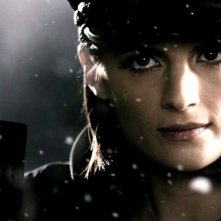 Stana Katic in una scena del film The Spirit