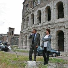 Veronica Pivetti e Paolo Conticini in una scena di Provaci ancora Prof! 3