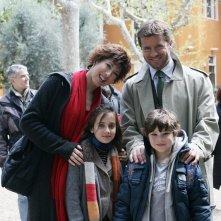Veronica Pivetti, Ludovica Gargari, Paolo Conticini e Federico Russo in una scena di Provaci ancora Prof! 3