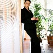 L\'attrice Isabella Tabarini