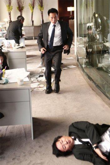Masi Oka e James Kyson Lee in una scena dell'episodio The Second Coming di Heroes