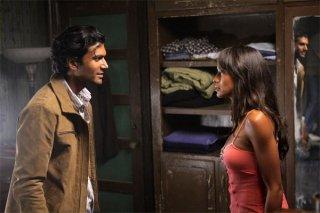 Sendhil Ramamurthy e Dania Ramirez in una scena dell'episodio The Second Coming di Heroes