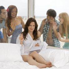 Un'immagine promozionale del cast di The Ex List