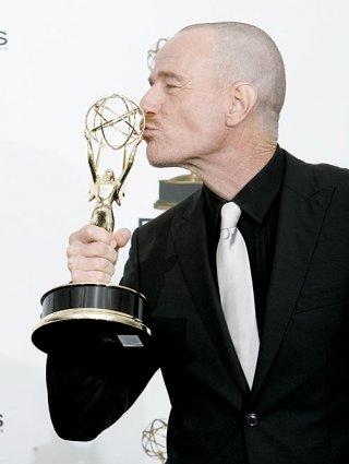 Bryan Cranston premiato agli Emmy Awards 2008 come miglior attore drammatico per la serie Breaking Bad