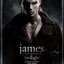 Character Poster italiano per Twilight: James