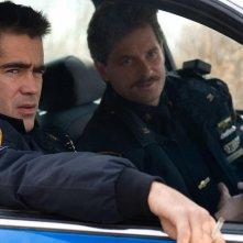 Colin Farrell e Shea Whigham in un'immagine del film Pride and Glory