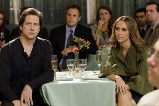 Jennifer Love Hewitt e Jamie Kennedy nell'episodio 'Big Chills' della quarta stagione di Ghost Whisperer