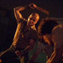 Marco Bacuzzi in un'immagine del film Borderland