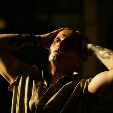 Marco Bacuzzi in una scena del film Borderland