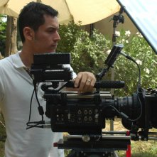 Matteo Tondini sul set de Il mio ultimo giorno di guerra