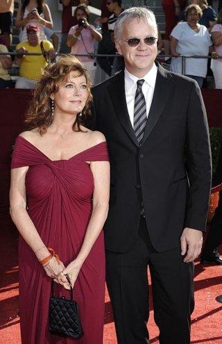 Susan Sarandon e Tim Robbins alla 60° edizione degli Emmy Awards (2008)