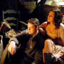 Bianca Guaccero e Giorgio Lupano in una scena della fiction La stella della porta accanto