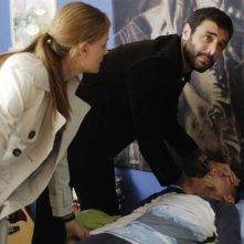 Daniele Pecci in un'immagine del serial Crimini bianchi