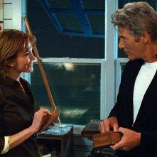 Diane Lane e Richard Gere in un'immagine di Nights in Rodanthe