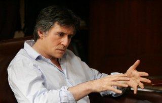 Gabriel Byrne in una scena della serie TV In Treatment