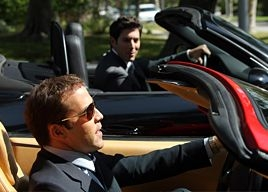 Jeremy Piven in una scena dell'episodio 'The All Out Fall Out' della quinta stagione di Entourage