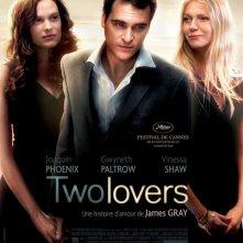 La locandina francese del film Two Lovers