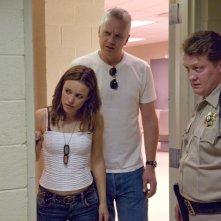 Rachel McAdams, Tim Robbins e Christian Stolte in una scena del film The Lucky Ones