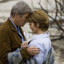 Richard Gere e Diane Lane sono i protagonisti del film Nights in Rodanthe, tratto da un romanzo di Nicholas Sparks