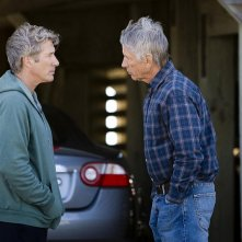 Richard Gere e Scott Glenn in una scena del film Nights in Rodanthe