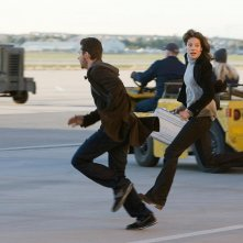 Shia LaBeouf e Michelle Monaghan in un'immagine del film Eagle Eye