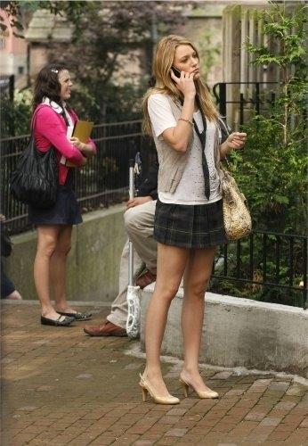 Blake Lively in una scena dell'episodio The Ex-Files di Gossip Girl