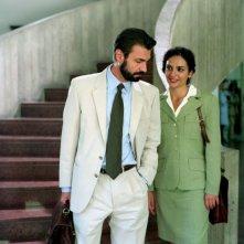 Fabrizio Gifuni e Gioia Spaziani in un'immagine del film I galantuomini