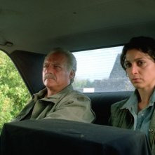 Giorgio Colangeli e Donatella Finocchiaro in una scena del film I galantuomini