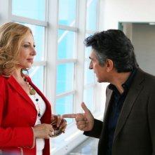 Iaia Forte e Vincenzo Salemme in un'immagine del film No Problem