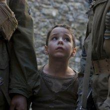 Matteo Sciabordi in un'immagine del film Miracolo a S. Anna