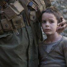 Matteo Sciabordi in una scena del film Miracolo a S. Anna