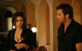 Penelope Cruz e Javier Bardem in una scena del film Vicky Cristina Barcelona