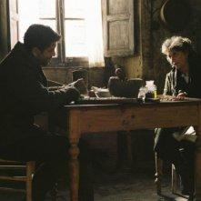 Pierfrancesco Favino e Lidia Biondi in una scena del film Miracolo a Sant'Anna
