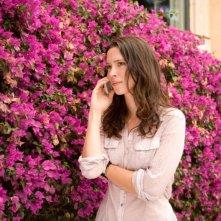 Rebecca Hall in un'immagine del film Vicky Cristina Barcelona