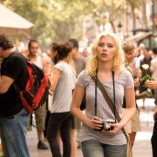 Scarlett Johansson in un'immagine del film Vicky Cristina Barcelona