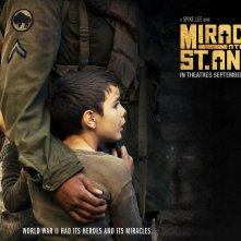 Un wallpaper del film Miracolo a Sant'Anna con Matteo Sciabordi