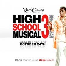 Un wallpaper di High School Musical 3 con Chris Warren Jr.