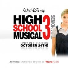 Un wallpaper di High School Musical 3 con Jemma McKenzie-Brown
