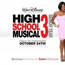 Un wallpaper di High School Musical 3 con la peperina Monique Coleman
