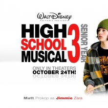 Un wallpaper di High School Musical 3 con Matt Prokop