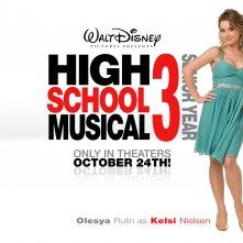 Un wallpaper di High School Musical 3 con Olesya Rulin