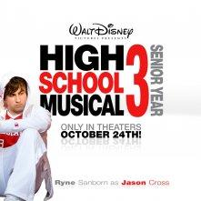 Un wallpaper di High School Musical 3 con Ryne Sanborn