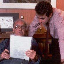 Massimiliano La Pegna con suo padre Arturo