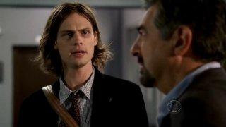 Matthew Gray Gubler e Joe Mantegna nell'episodio della serie Criminal Minds 'Mayhem'
