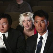 Masi Oka, James Kyson Lee e Brea Grant in una scena dell'episodio One of Us, One of Them di Heroes